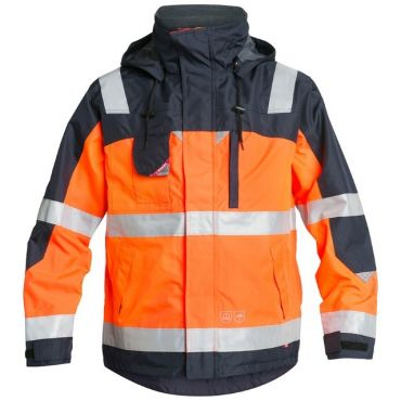 Safety EN ISO 20471 Pilot Shell-Jacke KL. 2 F. Engel