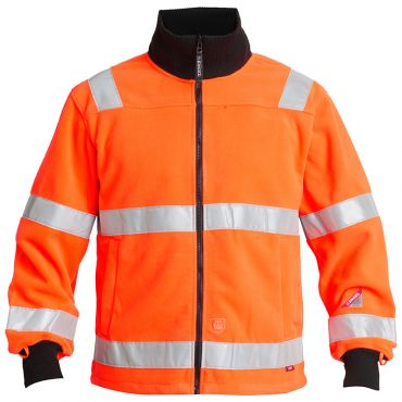 Safety EN ISO 20471 Fleecejacke F. Engel