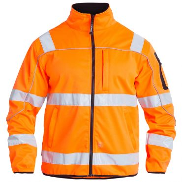 Safety EN ISO 20471 Softshell Jacke F. Engel
