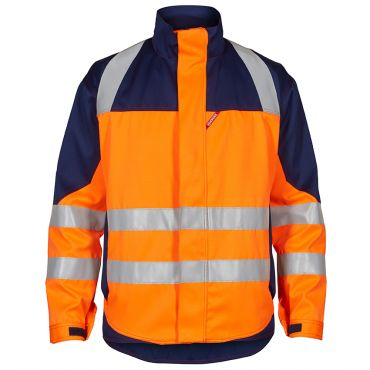 Safety+ EN ISO 20471 Multinorm Inherent Jacke, orange F. Engel