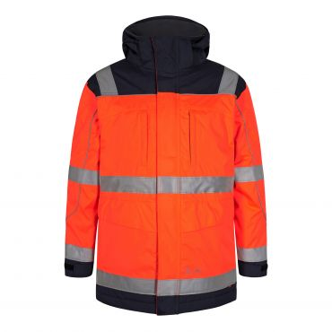 Safety EN ISO 20471 Parkajacke F. Engel