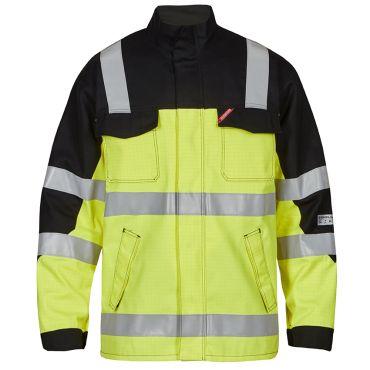 Safety+ Lichtbogen Jacke KL.2 EN ISO 20471 Warnschutz F. Engel