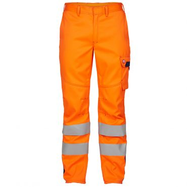 Safety+ EN ISO 20471 Multinorm Inherent Hose, orange F. Engel