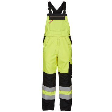 Safety+ Lichtbogen Latzhose KL.2 EN ISO 20471 Warnschutz F. Engel