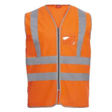 Safety EN ISO 20471 Verkehrsweste F. Engel