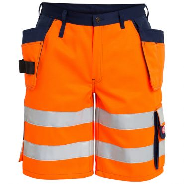 Safety EN ISO 20471 Shorts mit Holstertaschen F. Engel