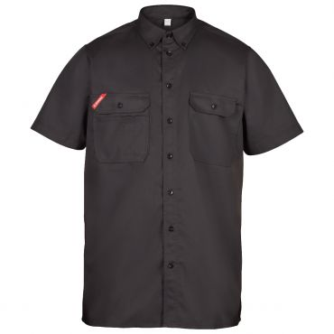Standard Baumwolle kurzärmliges Herrenhemd F. Engel