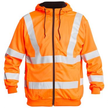 Safety EN ISO 20471 Kapuzenjacke F. Engel