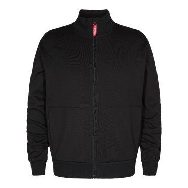 Standard Sweatshirt mit Reißverschluss und hohem Kragen F. Engel
