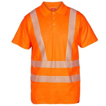 Safety EN ISO 20471 Poloshirt F. Engel