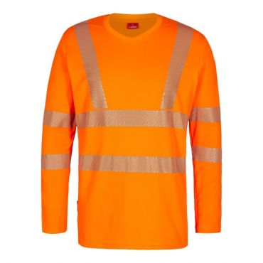 Safety EN ISO 20471 langärmliges T- Shirt F. Engel