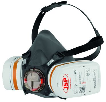 Force™8 Halbmaske mit PressToCheck™ - A2P3 Filter